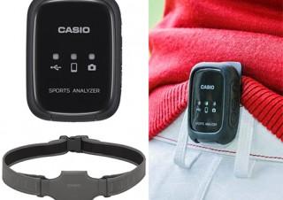 カシオ、ゴルフ用ウェアラブルセンサー「HIP SPEEDER」を発売