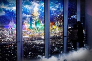 NEW WORLDをテーマにテクノロジーと融合した夜景を楽しめる「CITY LIGHT FANTASIA」