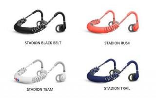 URBANEARSより、カールコード使用でスポーツ時の揺れを抑えるBluetooth型ワイヤレスイヤホン「Stadion」発売