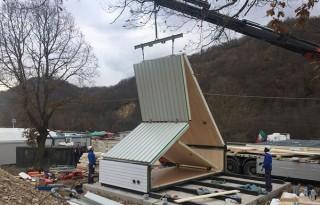 6時間・約370万円で建てられる家「M.A.Di.」、折りたたみの家がサクサク建つ動画が面白い