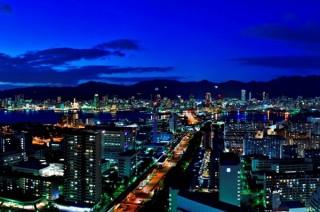 神戸の夜景の写真をSNSで募集している「ポートピア夜景投稿キャンペーン」