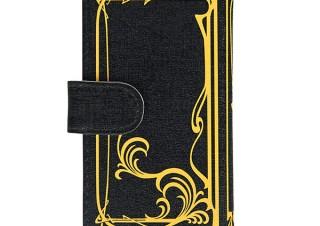 バンダイ、「仮面ライダーW」に登場するフィリップが持つ本のデザインの汎用スマホケースを発売