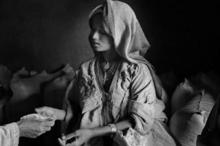 年男や年女の写真家を招くシリウスの年頭企画展として野町和嘉氏の「異境エチオピア」が開催