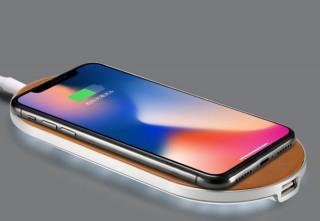 ENETREE、イタリア製本革を採用したiPhone X用のワイヤレス充電器を発売