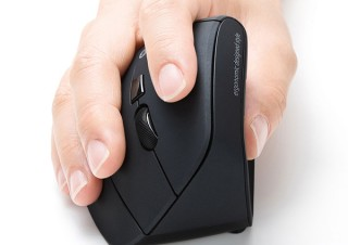 サンワ、手首に優しいエルゴノミクス形状のマウスを計3タイプ発売