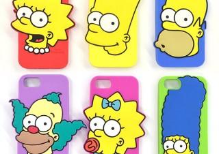 スモール・プラネット、「ザ・シンプソンズ」のキャラを大胆にデザインしたiPhoneケースを発売