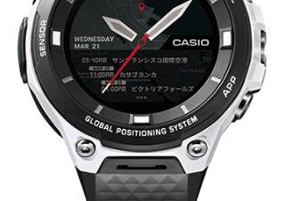 カシオ、アウトドア向けスマートウォッチ「PRO TREK Smart」の限定カラーを発売
