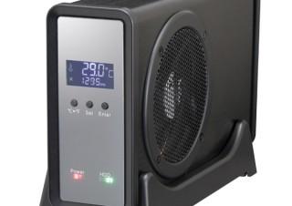 センチュリー、3.5インチHDDの温度管理が可能な8cmファン搭載ドライブケースを発売