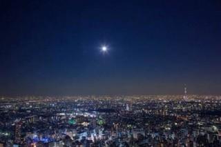 サンシャイン60、海抜251mの展望台から赤銅色の皆既月食をみるイベント開催