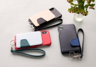 トーモ、背面フリップ型の本革製iPhone Xケースを発売
