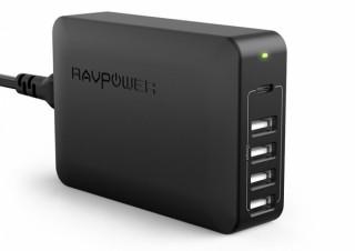 RAVPower、USB PD対応のType-Cポートを搭載した5ポート充電器を発売