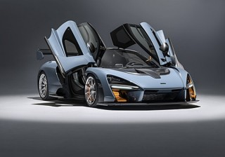 マクラーレン、公道を走れる最強スペックのスポーツカー「セナ」の新画像を発表
