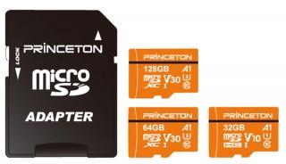 プリンストン、スマホのデータ保存に最適なA1規格対応のmicroSDXC/SDHカードを発売