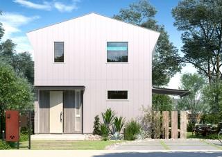 """スマホで""""家""""が買える「ジブンハウス」に切妻屋根をアレンジした新シリーズ「Urban」が登場"""