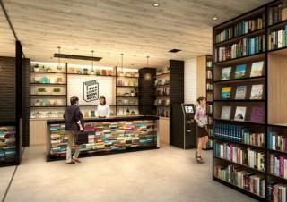 本屋や客室の読書専用ソファなどが揃い本の世界を旅する「ランプライトブックスホテル」オープン