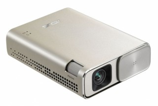 ASUS、バッテリーを内蔵した120インチのモバイルプロジェクターを発売