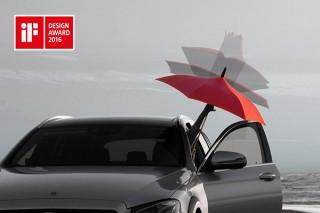"""""""逆に開く傘""""のSNSキャンペーンで愛車の写真を募集している「あなたの車にGAXを」"""