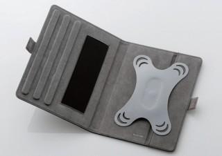 エレコム、タブレットを360°回転させることが可能な汎用タブレットケースを発売