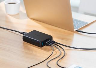 Anker、PD対応のType-Cポート1基とPowerIQ搭載ポート4基を搭載したUSB充電器を発売