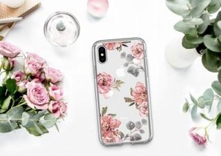 Spigen、水彩画風のバラの絵が描かれたiPhoneケースを発売