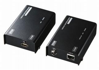 パソコンからディスプレイまでのHDMI信号を最大70m延長できる「HDMIエクステンダー」