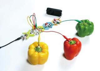 +Style、野菜や果物を楽器の一部にして演奏できる電子工作キットを発売