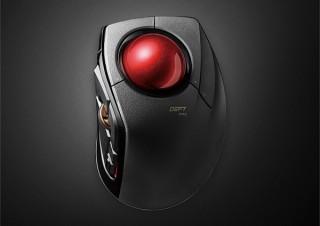 エレコム、有線でもワイヤレスでも使える高性能トラックボール「DEFT PRO」を発売