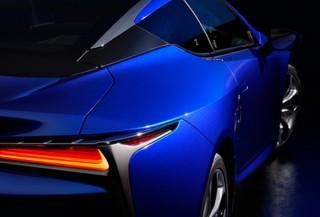 """レクサス、構造発色により""""世界で一番美しい蝶""""の青を表現したLC特別仕様車を発売"""
