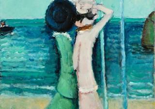 水が描かれた絵画に焦点を当てて40余点の作品を紹介する展覧会「水へのまなざし展」