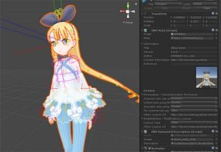 ドワンゴ、VRアプリで人型3Dアバターを扱うためのファイル形式「VRM」をオープンソースで公開