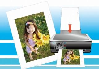 自作イラストや写真を自宅でインクジェットプリントできるクリアファイル登場!フエキから