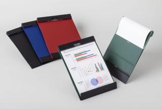 シックな4色カラーでさりげない個性が光る「マグフラップ」発売。内蔵マグネットで書類をめくったまま固定