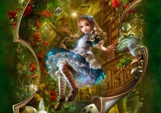 人気の「不思議の国のアリス」シリーズの軌跡を楽しめるSHU氏の展示会が名古屋と東京で開催
