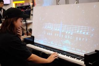 AIと合奏できるインスタレーション「Duet with YOO」の体験イベントがスタート