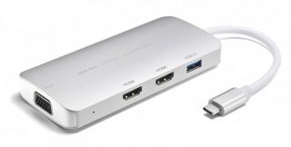 サンワサプライ、PCの映像を3台に同時出力できるType-C変換アダプタを発売