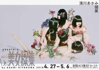 清川あさみ氏の15年にわたる代表的なシリーズ「美女採集」の展覧会がスタート