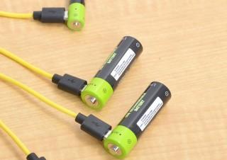 発売即売り切れだった「USB充電式乾電池」が入荷!単3と単4の2本セットを用意