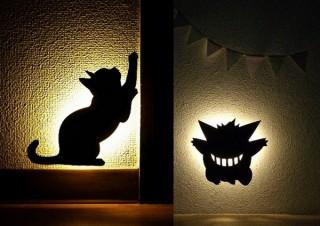 人が通るとポケモンや猫が浮かび上がる「LEDウォールライト」、ヴィレヴァンから