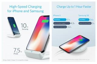 iPhoneを最大7.5W/Samsung製スマホを最大10Wで充電できる! ワイヤレス急速充電器2種を発売