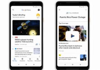 Googleニュース刷新、AIが膨大な情報を整理したりユーザー向けのおすすめ記事をまとめたり