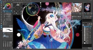 ジャングル、人気絵師の藤ちょこ氏も愛用するペイントソフトの最新版「openCanvas 7」を発売
