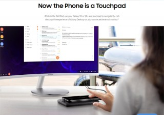 サムスン電子より、スマホをWQHD(2,560×1,440)の大画面で操作できるスマホドック「DeX Pad」発売