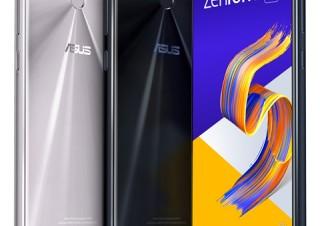 ASUS、AI機能でユーザーの好みや習慣を学習するスマホ「zenfone 5」シリーズを発表
