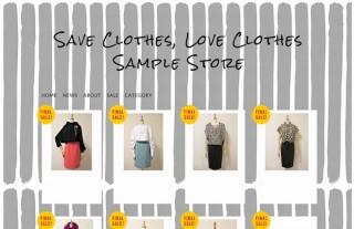 """年間10億枚が着られること無く廃棄される""""衣料品ロス""""を回避する「会員制ショップサイト」"""