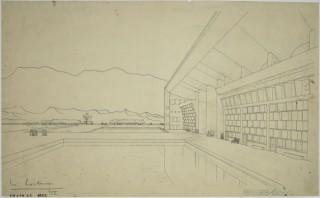建築倉庫ミュージアムのリニューアル後の初の企画展「ル・コルビュジエ / チャンディガール展」