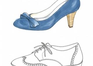 2018年秋冬の靴のデザイン画の公募「第1回ORiental TRafficシューズデザインコンテスト」