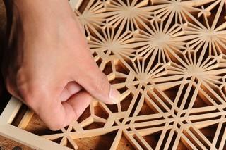 伝統的な組子技術で1600個ものパーツを組み上げたアート作品「禅組子」の展示会がスタート
