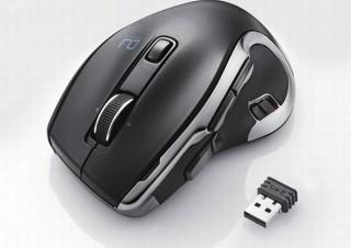 エレコム、1クリックでマクロを実行できる「ワイヤレスマウス」2モデル発売