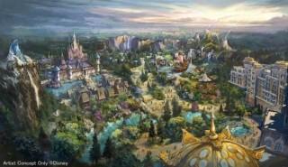 ディズニーシーが拡大で映画『アナ雪』『ラプンツェル』『ピーター・パン』テーマの新テーマポート