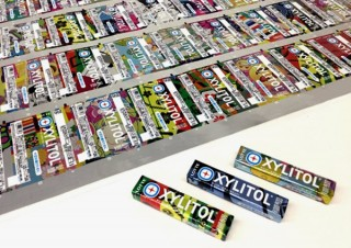 200万種以上の絵柄を印刷した「キシリトールガム<Xミント>」が日本包装技術協会主催の木下賞を受賞